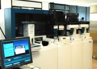 Dettaglio macchine laboratorio