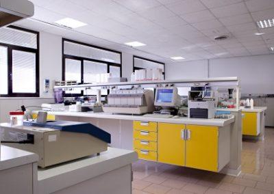 Sala macchine laboratorio
