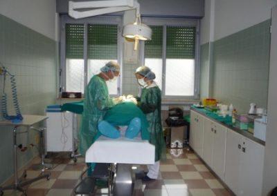 Sala per piccoli interventi chirurgici