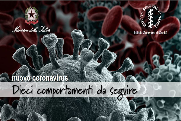 Nuovo coronavirus – Dieci comportamenti da seguire