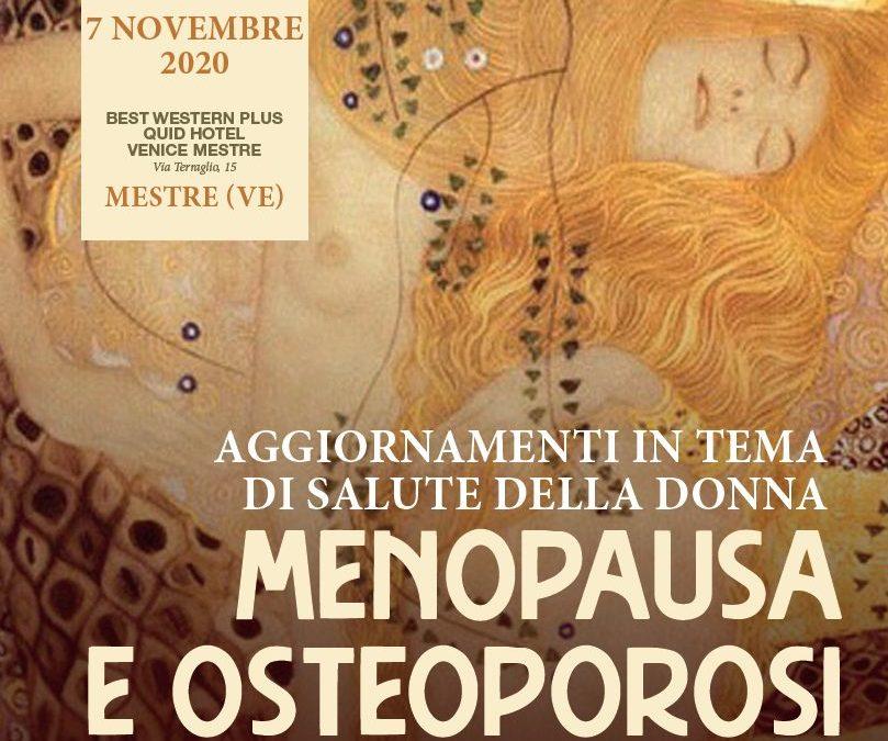 Aggiornamenti in tema di salute della donna – menopausa e osteoporosi